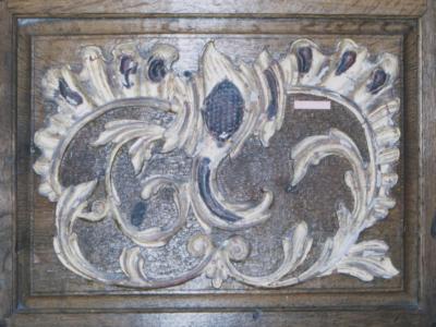 Kassette St. Dionysius Kirche im Vorzustand