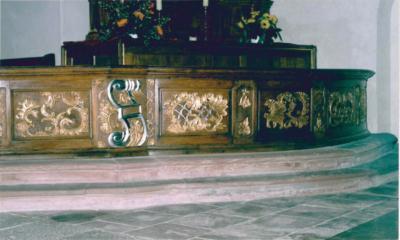 Kommunionbank St. Dionysius Kirche