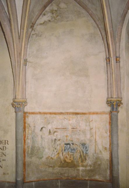 Welling, Kirche St. Peter, Wandmalerei