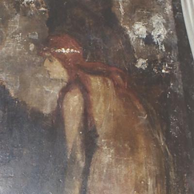 Wandmalerei G. Tronnier Ausschnitt 2