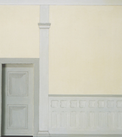 Rekonstruierte Wand Klosterstift Bassum