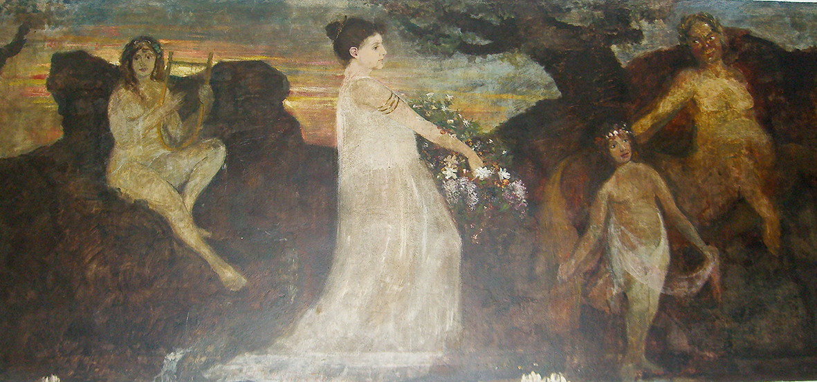 Wandmalerei G. Tronnier